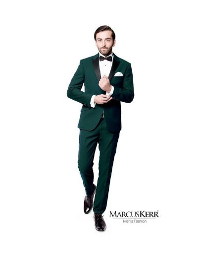 Garnitur męski Marcus Kerr zielony